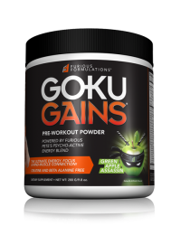Goku Gains *NEW FORMULA & FLAVORS*
