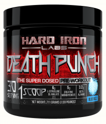 Death Punch The Super Dosed Pre-Workout