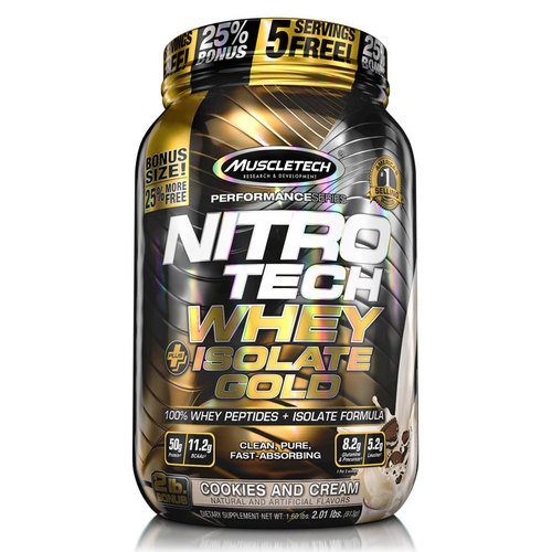 NitroTech Whey+Isolate Gold