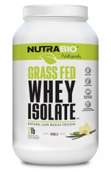 Grass Fed Whey Isolate Natural