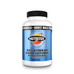 Adult Male 2-A-Day Formula With Daily Detox Blend