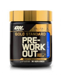 Gold Standard Pre-Workout Reviews