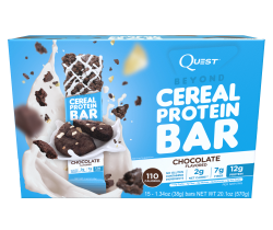 Cereal protein bar